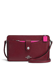 COACH Messanger with Pop-up Pouch in Colorblock Leather