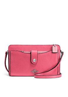 COACH Messenger With Pop-up Pouch in Colorblock Leather