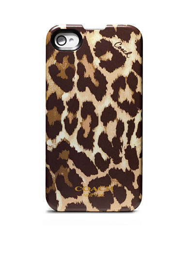 COACH OCELOT IPHONE 4 CASE