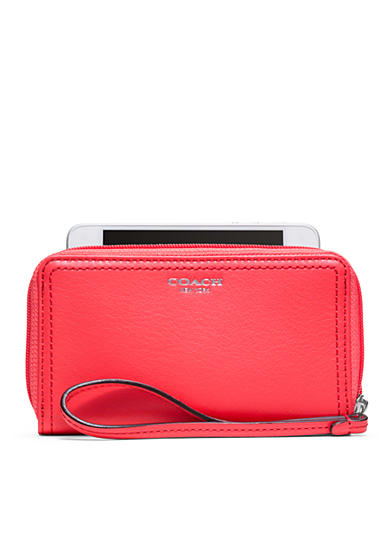 COACH LEGACY LEATHER E/W UNIVERSAL CASE