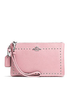 COACH EDGE STUDS SMALL WRISTLET