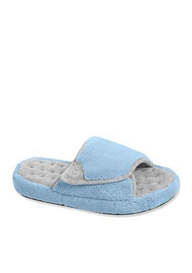 Isotoner&reg Slippers Microterry Wider Width Spa Slide