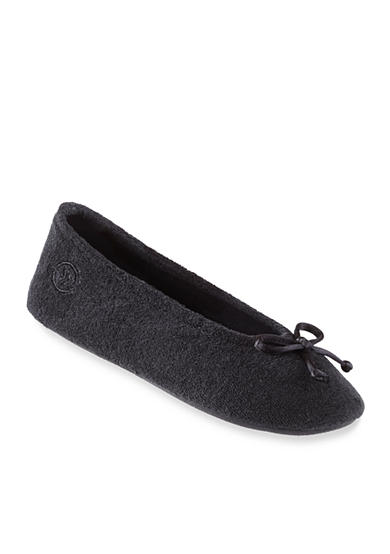 Isotoner&reg Slippers Women's Signature Classics Terry Ballet Slipper