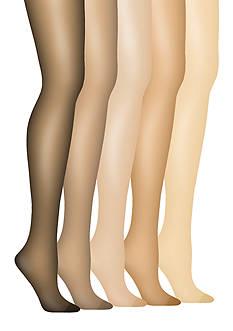 Hanes® Silk Reflections Plus Control Top Enhanced Toe Pantyhose
