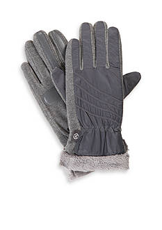 Totes Isotoner Sport Woven smarTouch® Gloves
