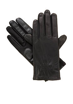 Totes Isotoner Women's Stretch Leather SmartTouch Gloves