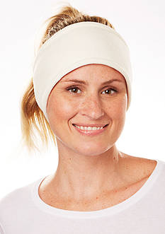 Totes Isotoner Womens Reversible Stretch Fleece Headband