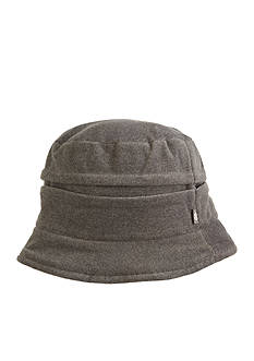Totes Isotoner Women's Stretch Fleece Convertible Cloche Hat