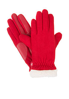 Totes Isotoner Women's Stretch Fleece with SmarTouch Technology Gloves