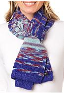 Totes Isotoner Chenille Space Dye Scarf