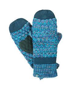 Totes Isotoner Women's Multi Color Popcorn Stitch Mittens