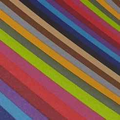 Umbrella: Stripes Totes Ladies Micro 'Brella Manual Compact Umbrella