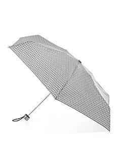 Totes Isotoner Signature Manual Mini Umbrella with NeverWet
