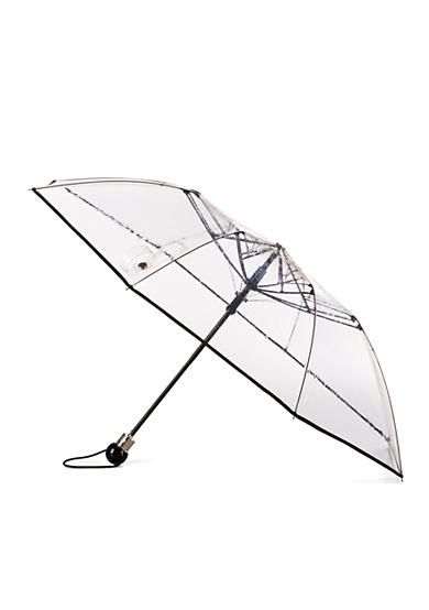 Totes Clear Compact Umbrella