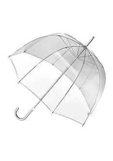 Totes Manual Transparent Bubble Umbrella