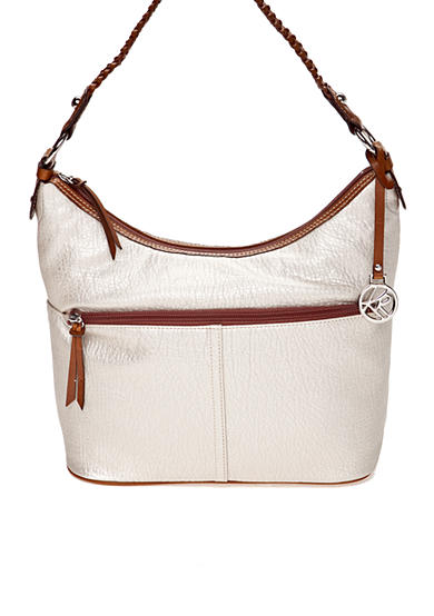 Kim Rogers® Mary Top Zip Bucket Handbag