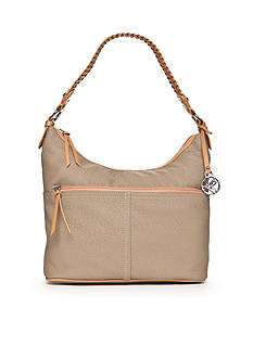 Kim Rogers® Waxy Pebble Hobo Bucket Bag