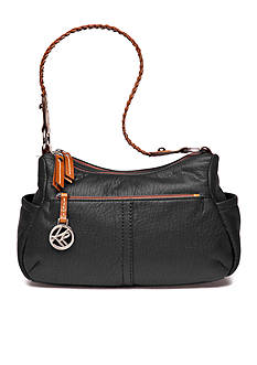 Kim Rogers Double Entry Hobo Bag