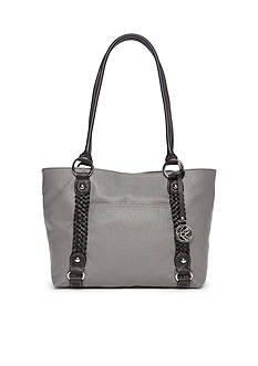 Kim Rogers Braided Pebble Tote