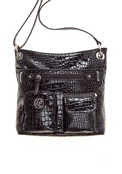 Kim Rogers® Shiny Croco Crossbody