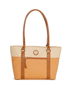 Kim Rogers® Horizon Colorblock Shoppers Tote