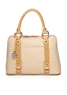 Kim Rogers® Braided Dome Satchel