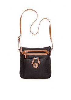 Kim Rogers® Two-Tone Crossbody