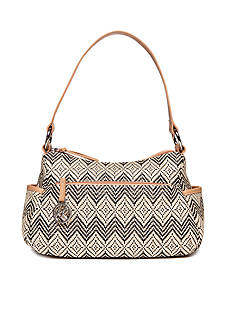 Kim Rogers® Straw Double Entry Hobo