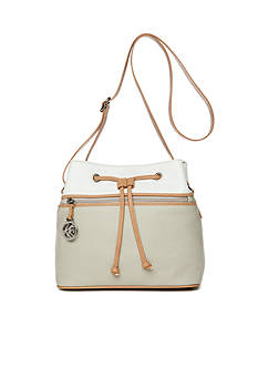 Kim Rogers® Drawstring Bucket Crossbody
