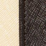 Satchel: Black/Oatmeal/Dark Tan Kim Rogers Saffiano Swagger Small Satchel