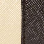 Kim Rogers Handbags & Accessories Sale: Black/Oatmeal/Dark Tan Kim Rogers Saffiano Swagger Satchel