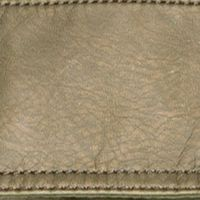 Small Handbags: Dark Olive Bueno Pearlized Washed E/W Flap Mini