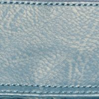 Small Handbags: Antique Denim Bueno Pearlized Washed E/W Flap Mini