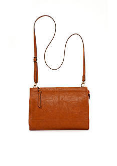 Bueno Veg Tan Top Zip Crossbody