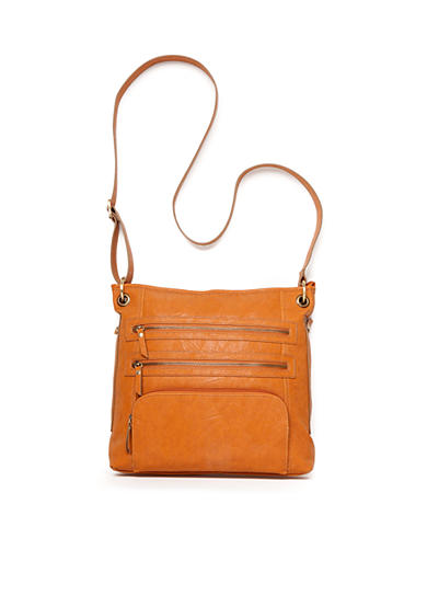 Bueno Vegan Leather Tan Crossbody