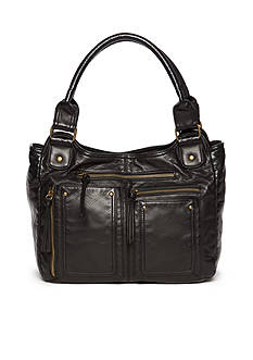 Bueno Washed Pockets 4 Poster Shoulder Bag