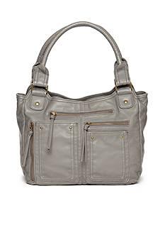 Bueno Washed Pockets 4 Poster Shoulder Bag