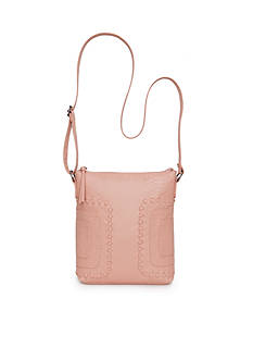 Bueno Whipstitch Panel Washed Crossbody