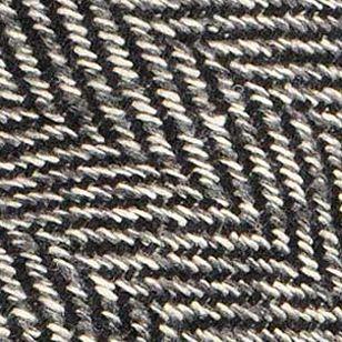 Betmar Accessories: Black Herringbone Betmar Adele Hat