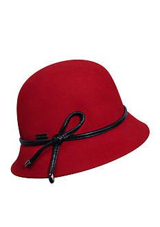 Betmar Cristina Structured Felt Cloche Hat