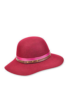 Betmar Hayden Bohemiam Style Floppy Hat With Two-Toned Band