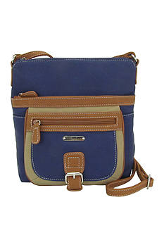 Kim Rogers® Flare Crossbody Tri-Tone Hunter Bag