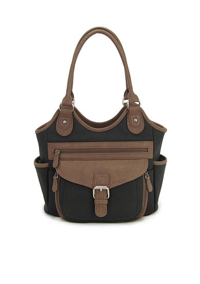 Kim Rogers® Contour Double Handle Satchel