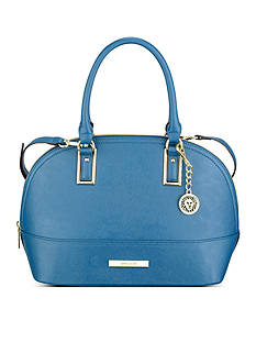 Anne Klein Shimmer Down Dome Satchel