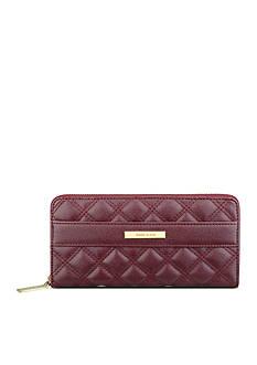 Anne Klein Shimmer Down II Zip Around Wallet