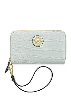 Anne Klein New Recruits Croco Wristlet