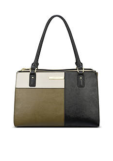 Anne Klein Shimmer Down Medium Tote
