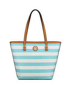 Anne Klein Stripe It Up Medium Tote