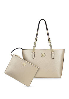 Anne Klein Medium Double Time Tote