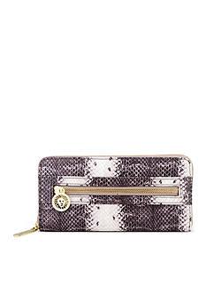 Anne Klein Dressed To Quilt Zip Around Wallet